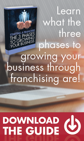 Learn what the three phases to growing your business through franchising are!
